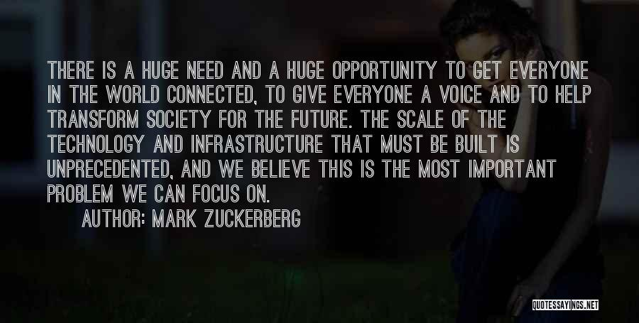 Technology And The Future Quotes By Mark Zuckerberg