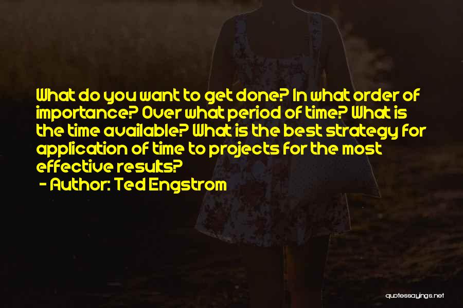 Ted Engstrom Quotes 169865