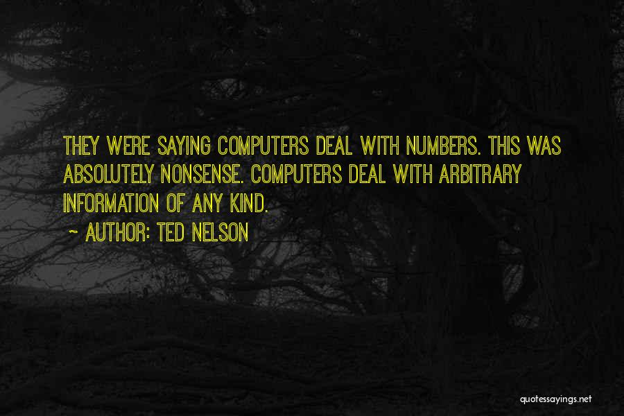 Ted Nelson Quotes 1518657
