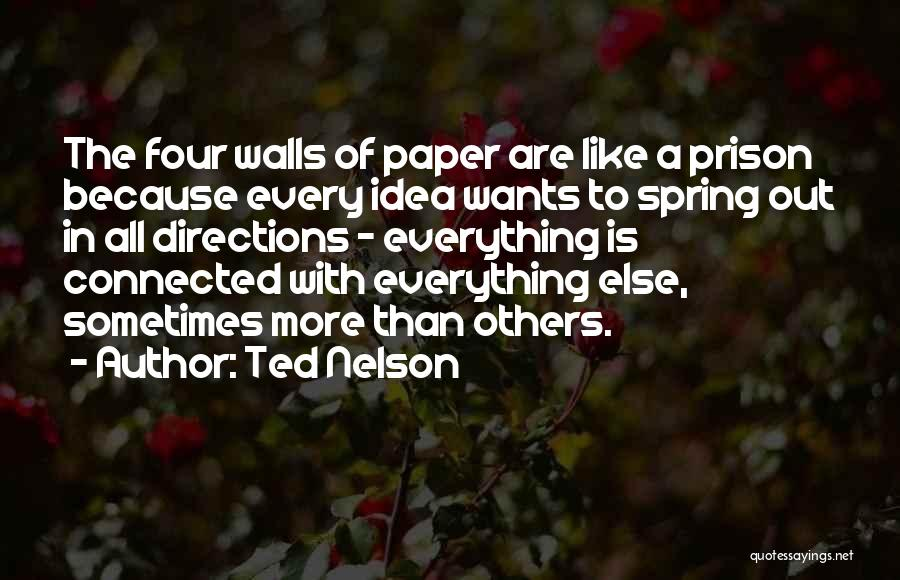 Ted Nelson Quotes 1976600