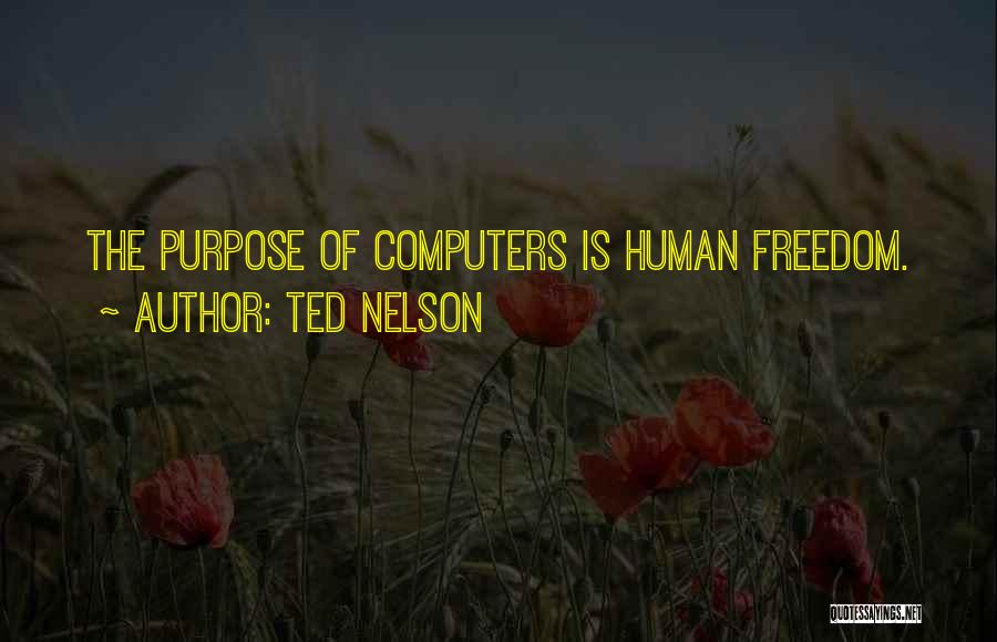 Ted Nelson Quotes 1978935