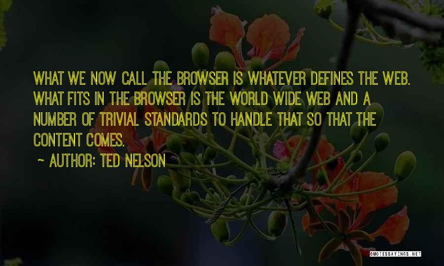 Ted Nelson Quotes 357505