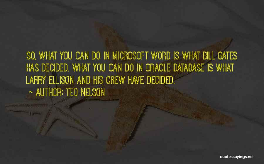 Ted Nelson Quotes 774319