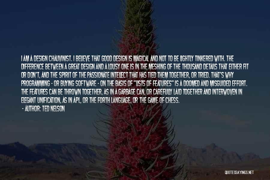 Ted Nelson Quotes 947134
