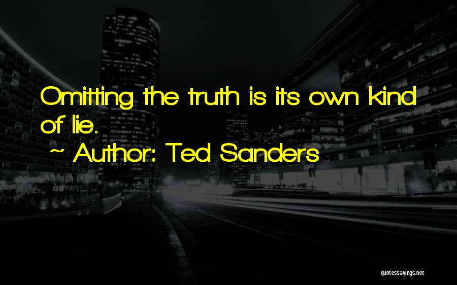 Ted Sanders Quotes 106412