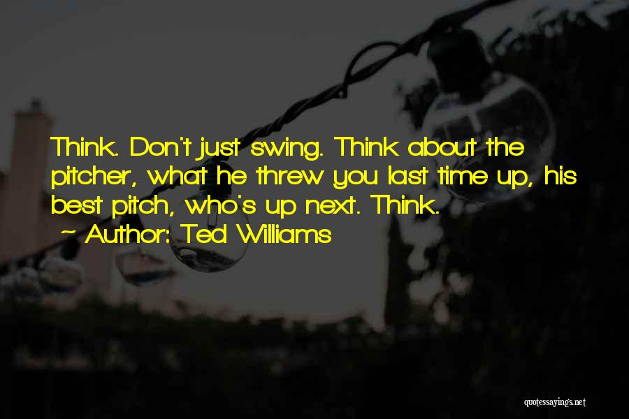 Ted Williams Quotes 1423384