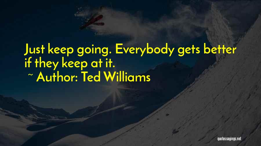 Ted Williams Quotes 1993980