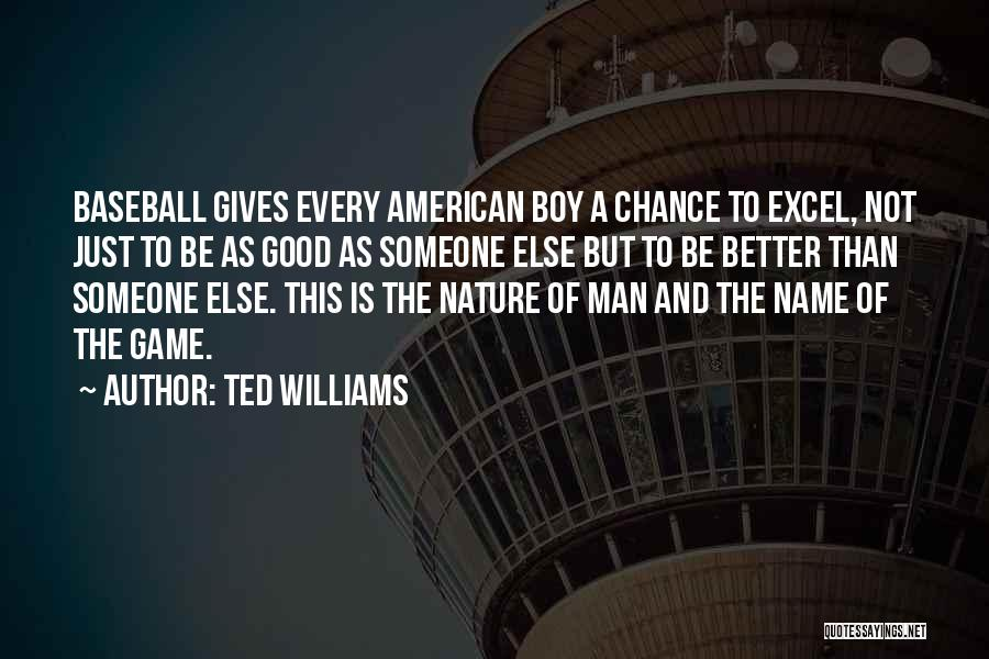 Ted Williams Quotes 608401