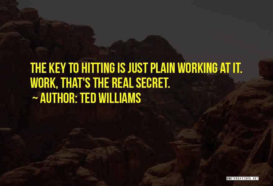 Ted Williams Quotes 91934