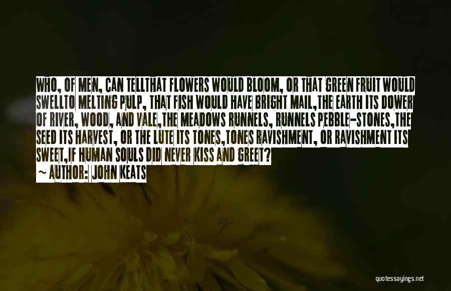 Tell Me Something Sweet Quotes By John Keats