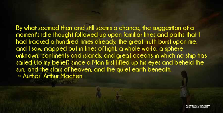 Tell Tale Heart Time Quotes By Arthur Machen