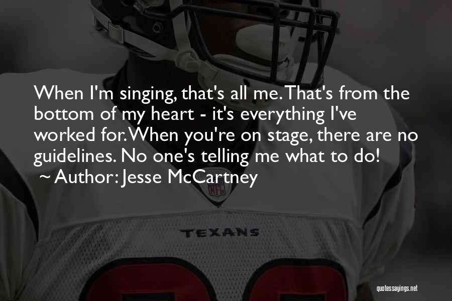 Telling Someone To Get Over It Quotes By Jesse McCartney