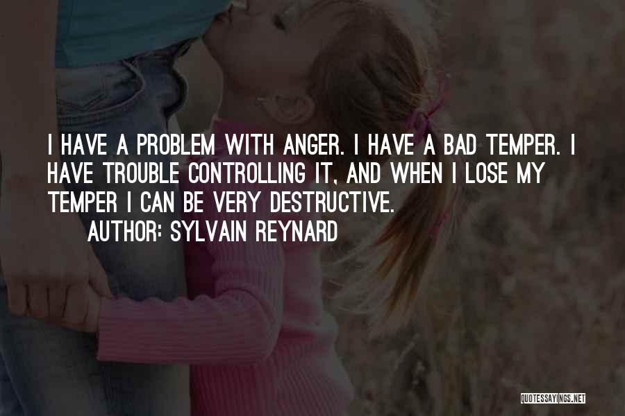 Temper And Anger Quotes By Sylvain Reynard