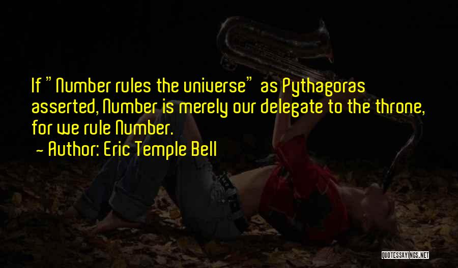 Temple Bell Quotes By Eric Temple Bell