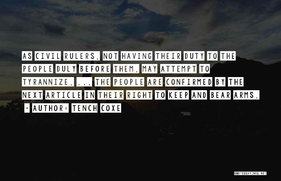 Tench Coxe Quotes 2028629