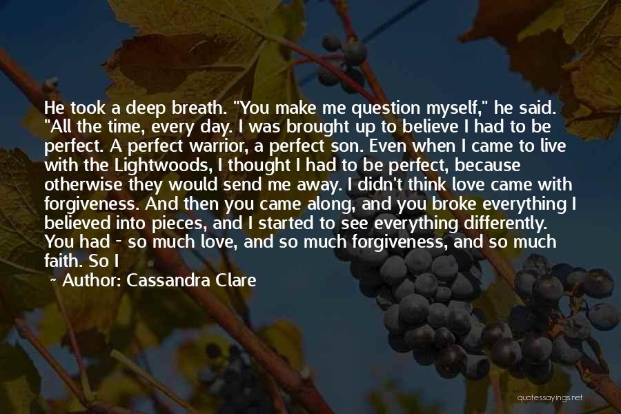 Tension In Love Quotes By Cassandra Clare