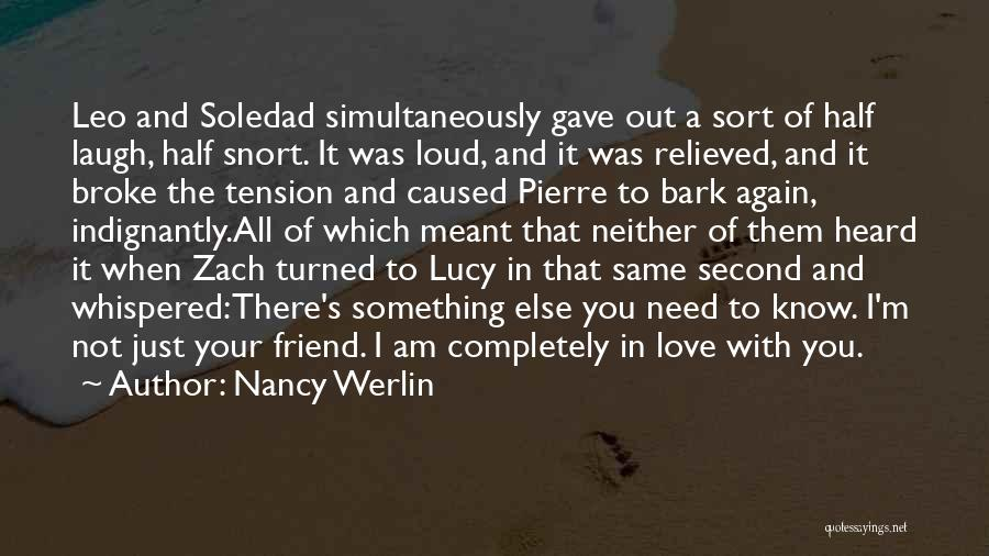 Tension In Love Quotes By Nancy Werlin