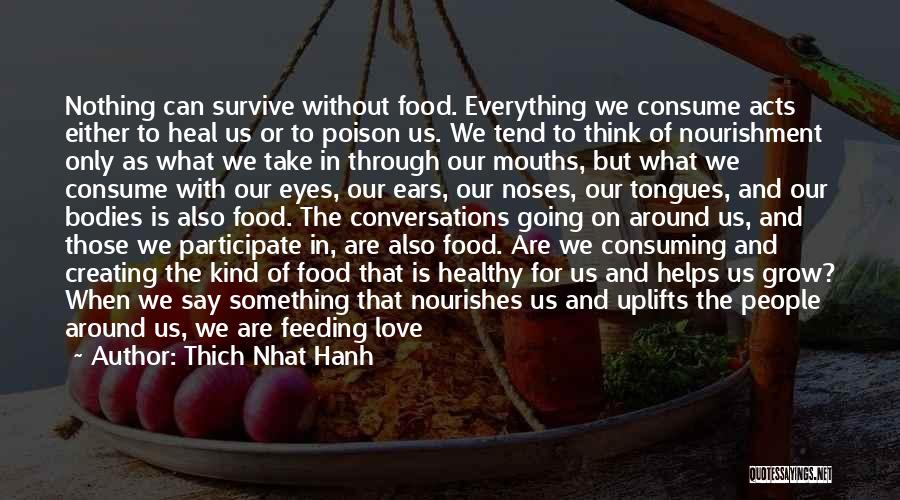 Tension In Love Quotes By Thich Nhat Hanh