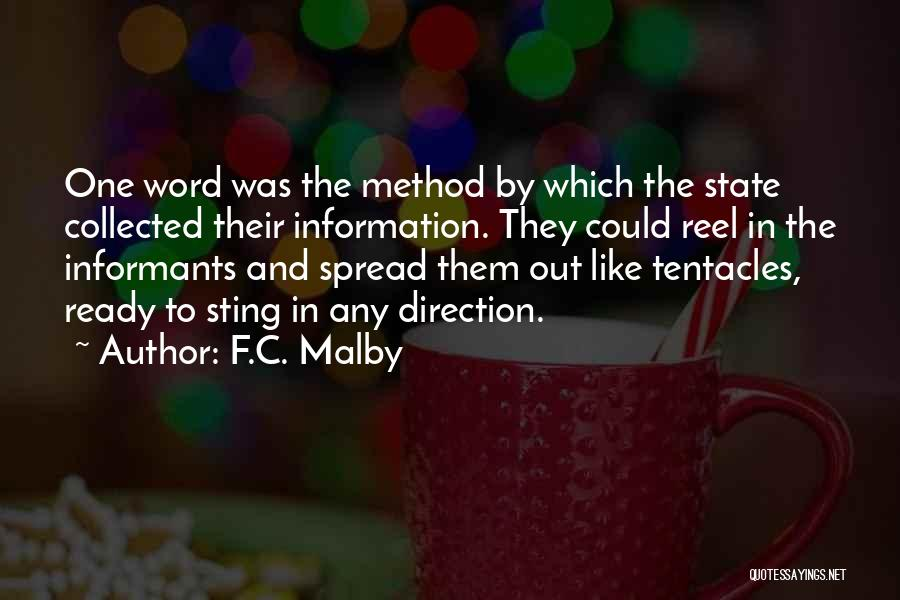 Tentacles Quotes By F.C. Malby