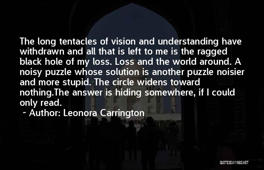Tentacles Quotes By Leonora Carrington