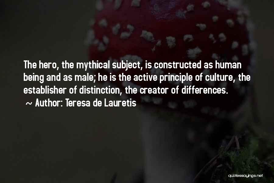 Teresa De Lauretis Quotes 372060