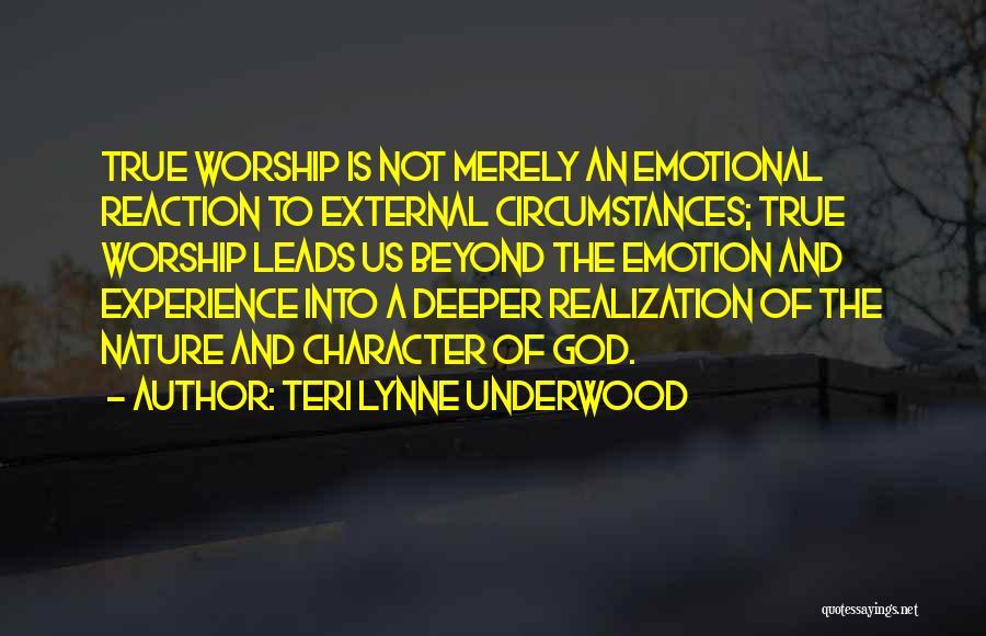 Teri Lynne Underwood Quotes 945133