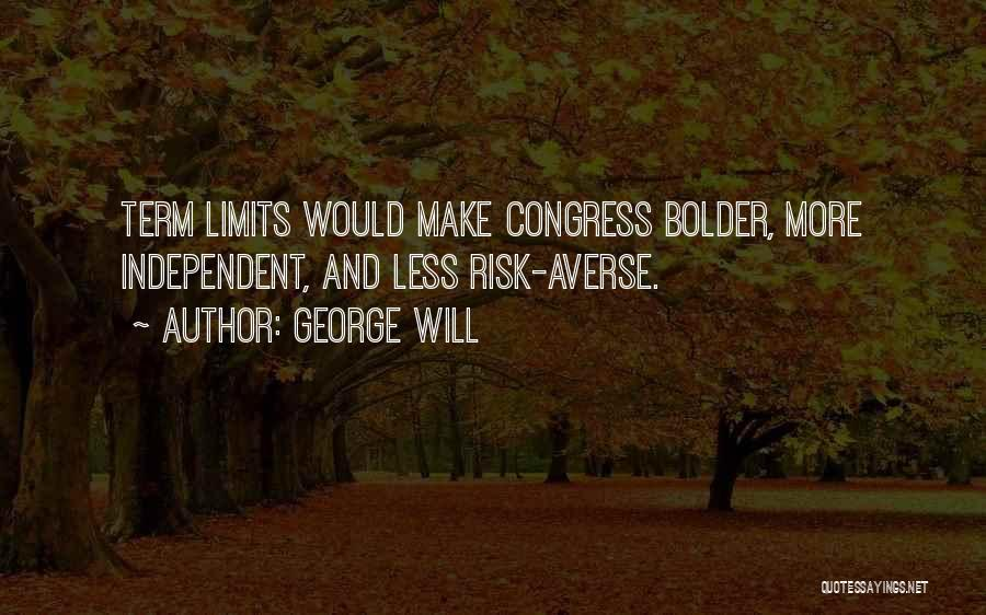 Term Limits Quotes By George Will