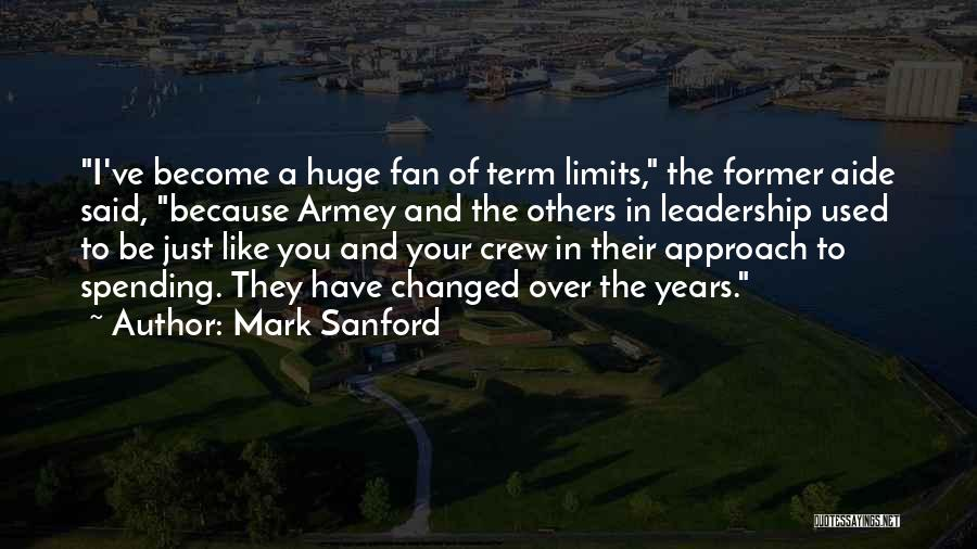 Term Limits Quotes By Mark Sanford