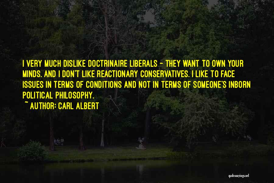 Terms And Conditions Quotes By Carl Albert