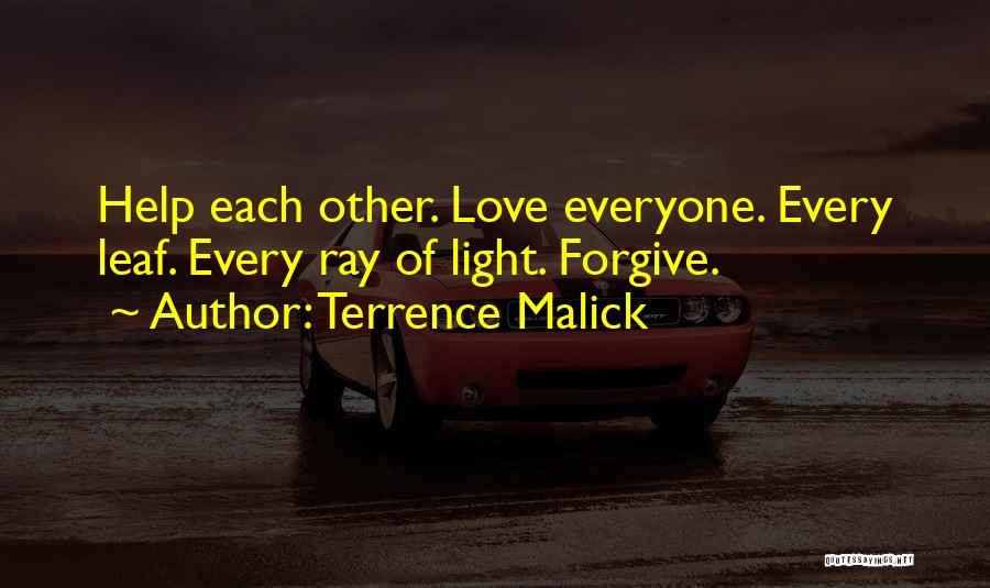 Terrence Malick Quotes 1520718