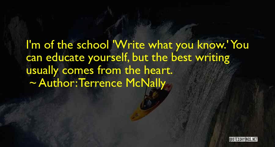 Terrence McNally Quotes 598540