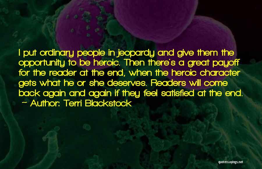 Terri Blackstock Quotes 146149