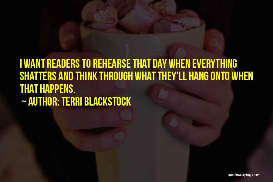 Terri Blackstock Quotes 79309