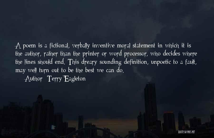 Terry Eagleton Quotes 1637808