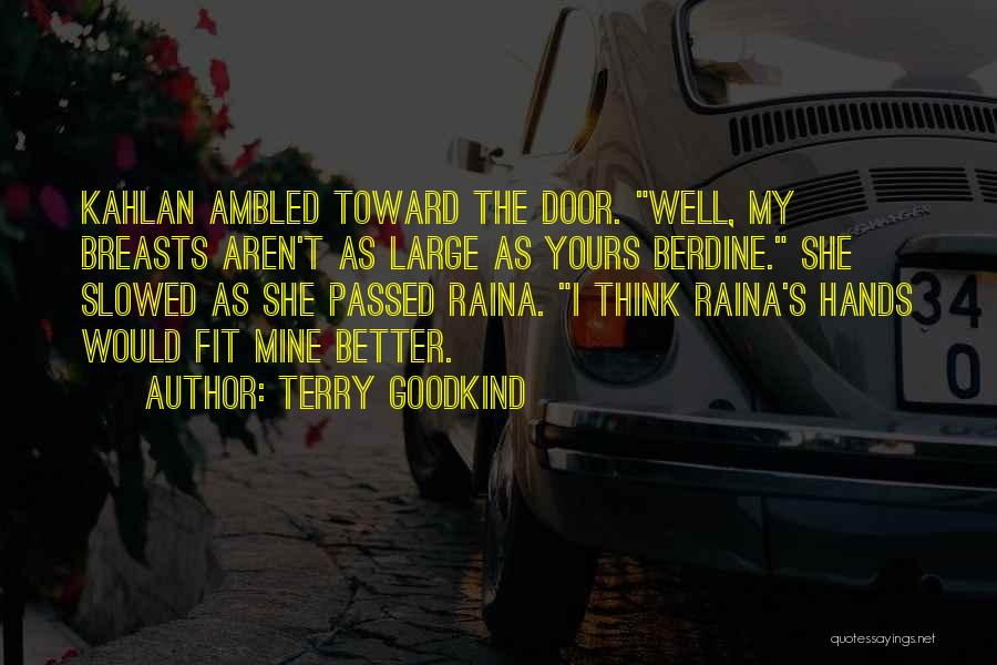 Terry Goodkind Quotes 1310407