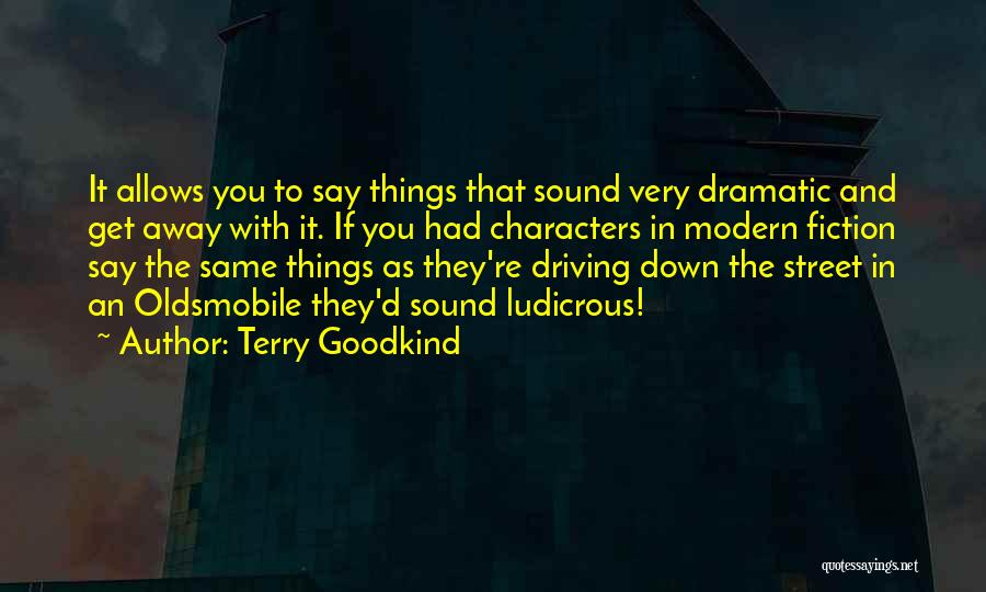 Terry Goodkind Quotes 269341