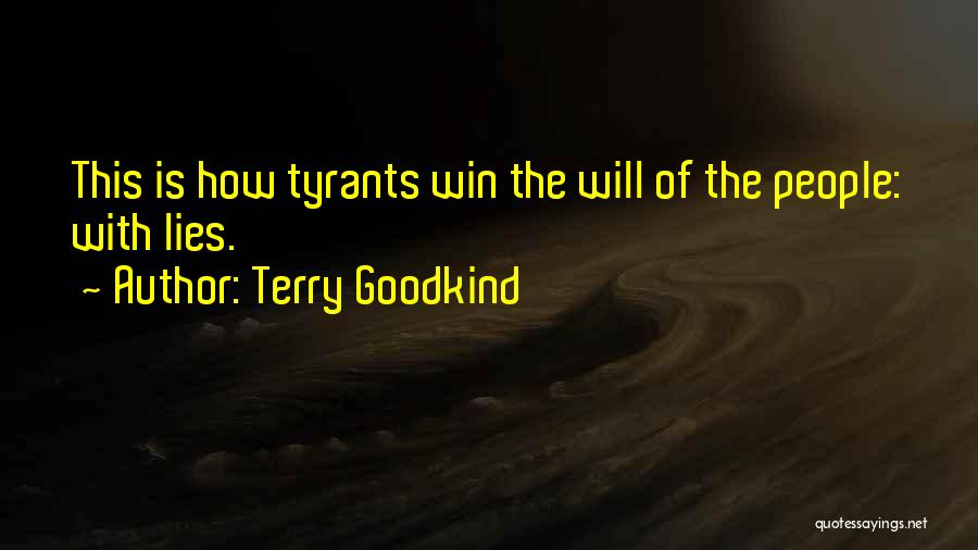 Terry Goodkind Quotes 704103