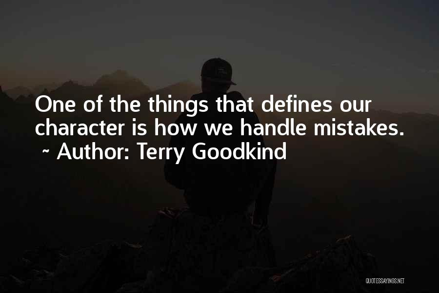 Terry Goodkind Quotes 86486