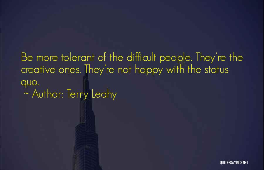 Terry Leahy Quotes 375374