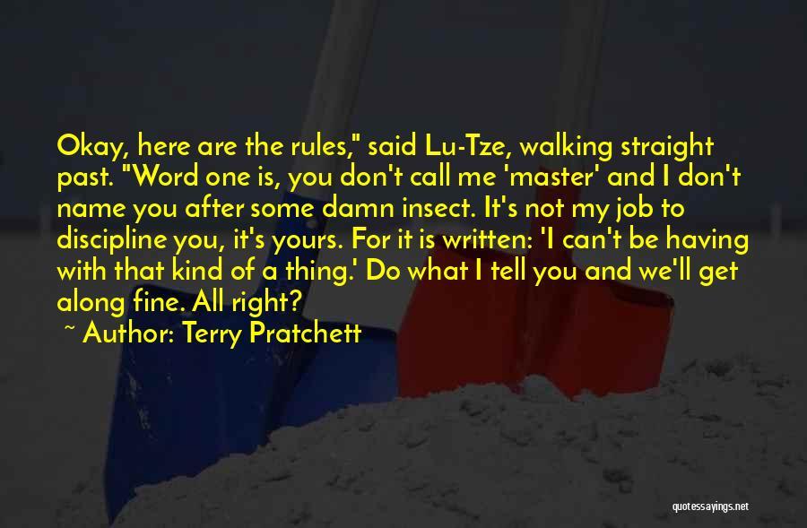 Terry Pratchett Lu Tze Quotes By Terry Pratchett