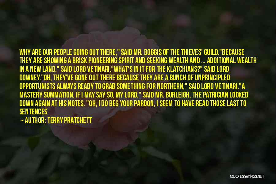 Terry Pratchett Patrician Quotes By Terry Pratchett