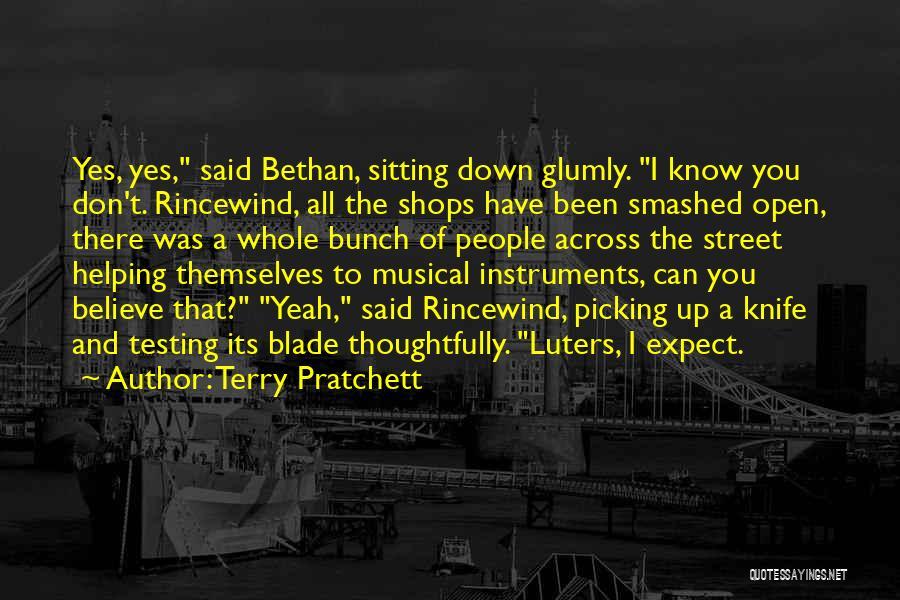 Terry Pratchett Rincewind Quotes By Terry Pratchett