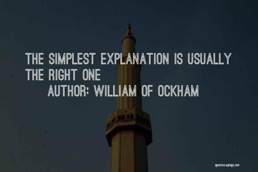 Teru Mikami Quotes By William Of Ockham