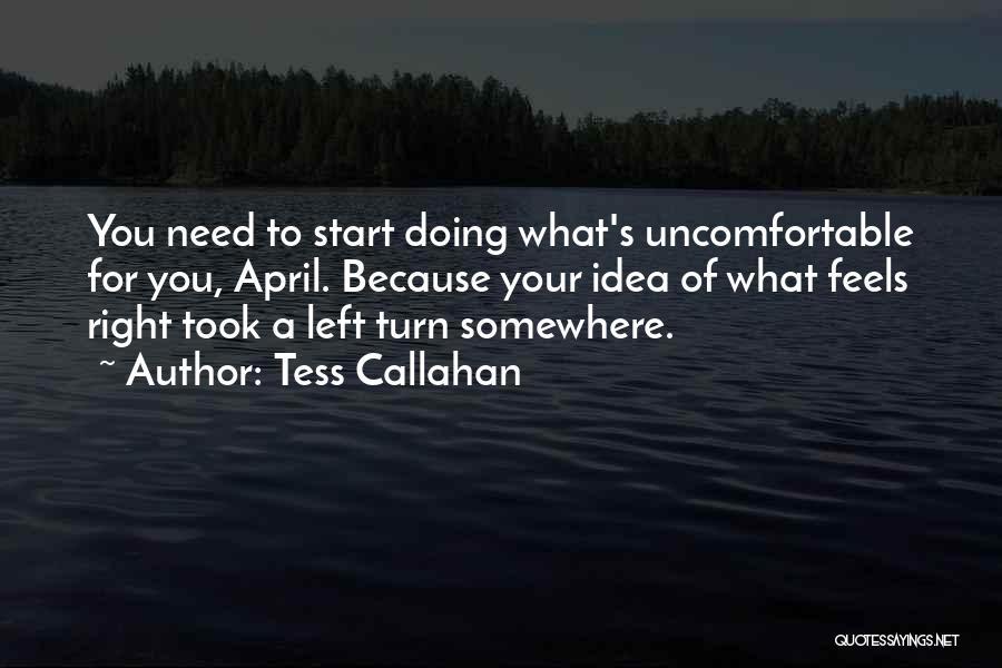 Tess Callahan Quotes 428334