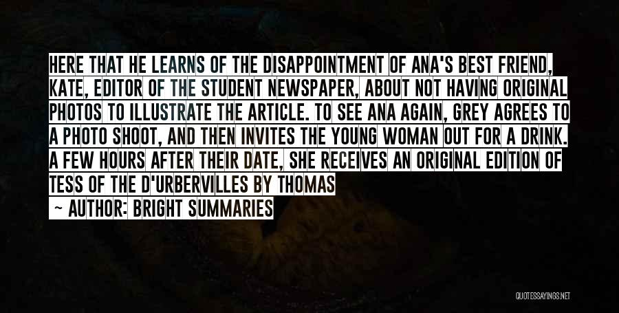 Tess Of The D'urbervilles Quotes By Bright Summaries