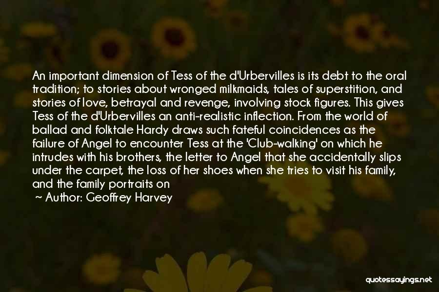 Tess Of The D'urbervilles Quotes By Geoffrey Harvey