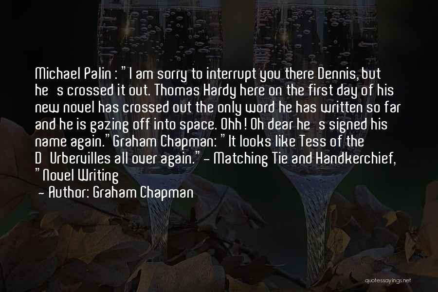 Tess Of The D'urbervilles Quotes By Graham Chapman