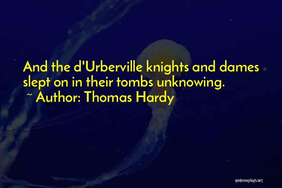 Tess Of The D'urbervilles Quotes By Thomas Hardy