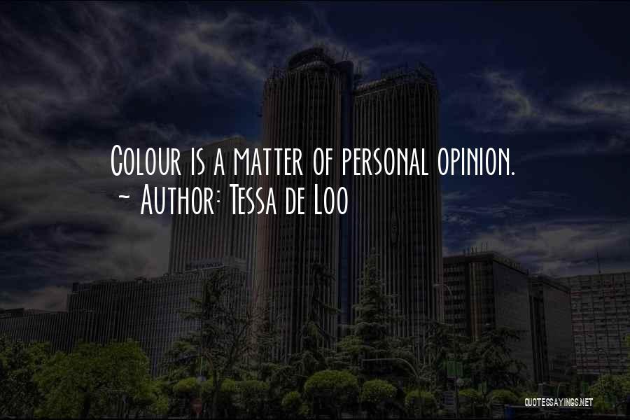 Tessa De Loo Quotes 1611146