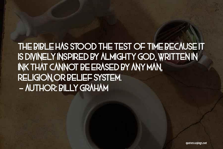 Test Of Time Quotes By Billy Graham